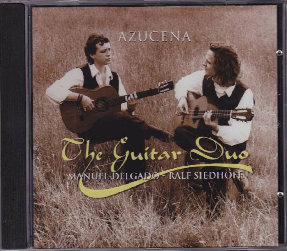 """Songs of the recording """"Azucena"""" The Guitar Duo"""